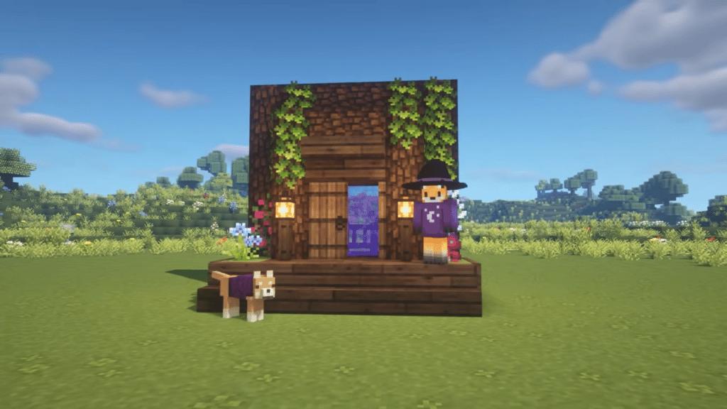 Nether Portal Doorway in Minecraft