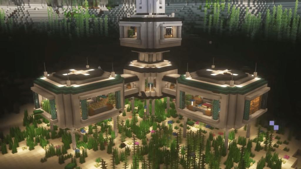 Underwater base Minecraft
