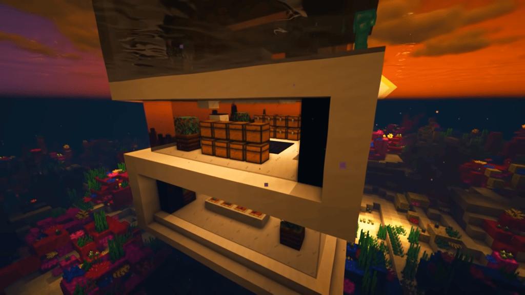 Underwater House in Minecraft