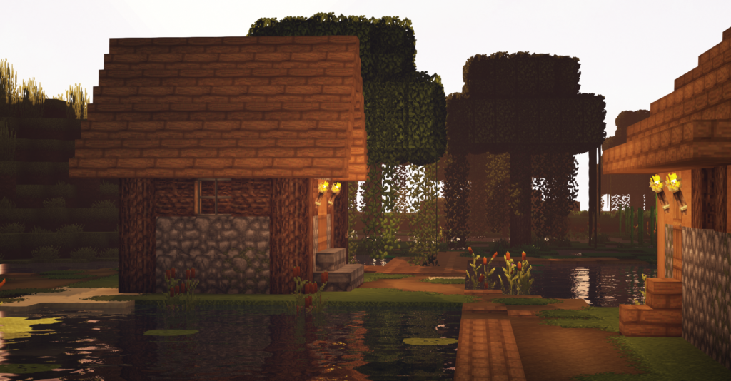 Overgrown Resource Pack for Survival Minecraft Java Medieval