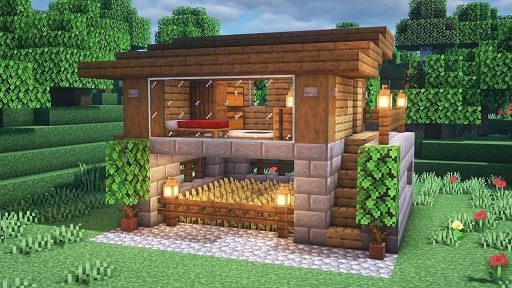 Minecraft Starter House Ideas - Simple Starter House