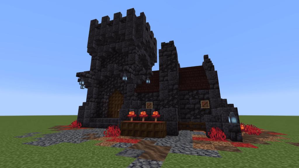 Nether Castle Minecraft Survival Base