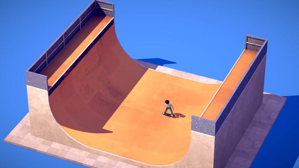 This screenshots show the opening tutorial ramp