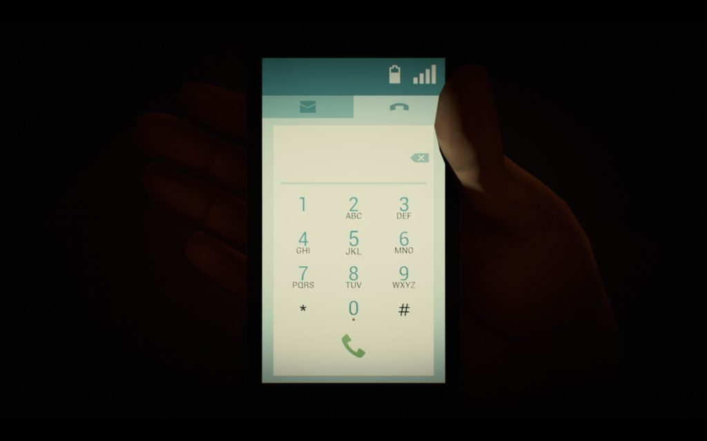 Players will be using the phone to dial various numbers, and check messages