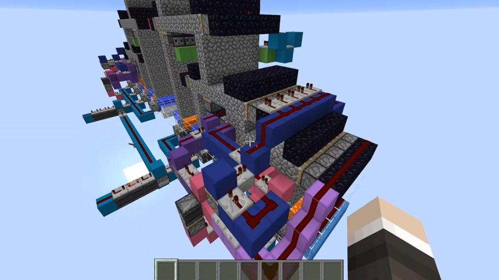 Unbreakable Wall in Minecraft