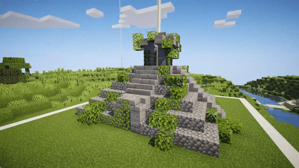 Minecraft Aztec Jungle Temple Idea