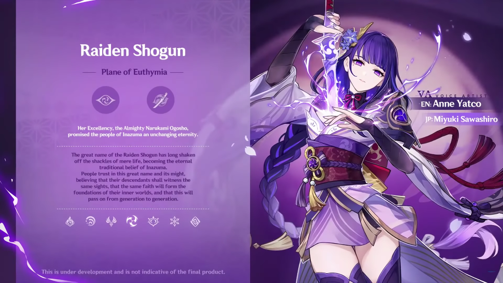 Raiden Shogun