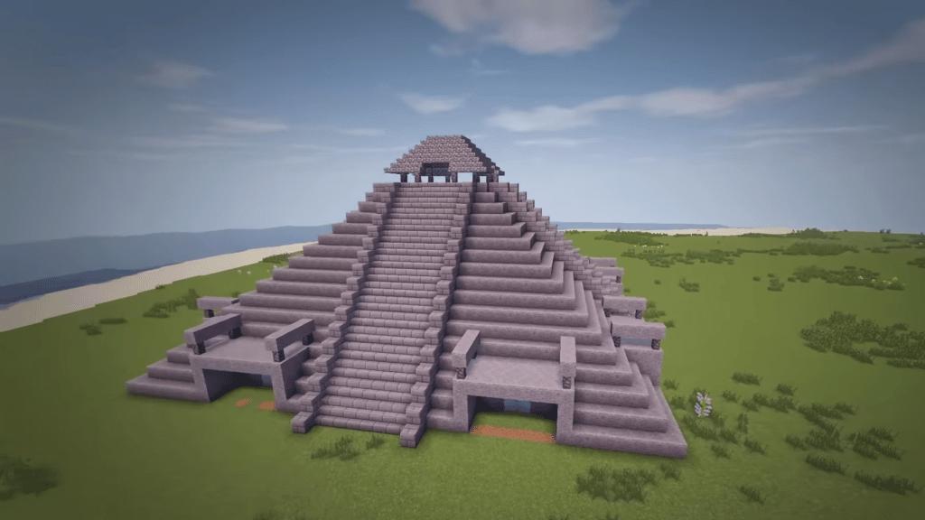 Castle Temple Minecraft Building Idea