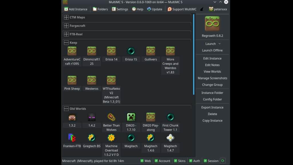 MultiMC Minecraft Alternative Mod Launcher