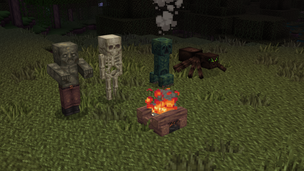 Medieval Scary Resource Pack for Minecraft Java