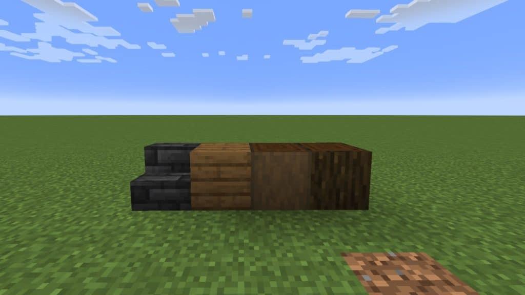 Minecraft Building TIps - Block Palette