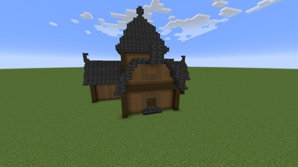 building tips Minecraft - making a roof