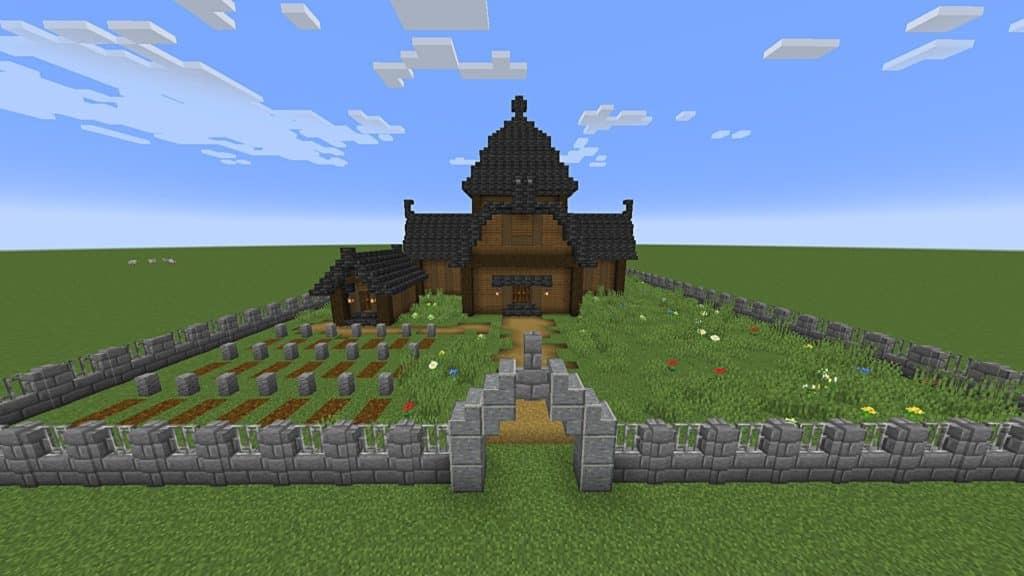 building tips Minecraft - Decorating surrounding