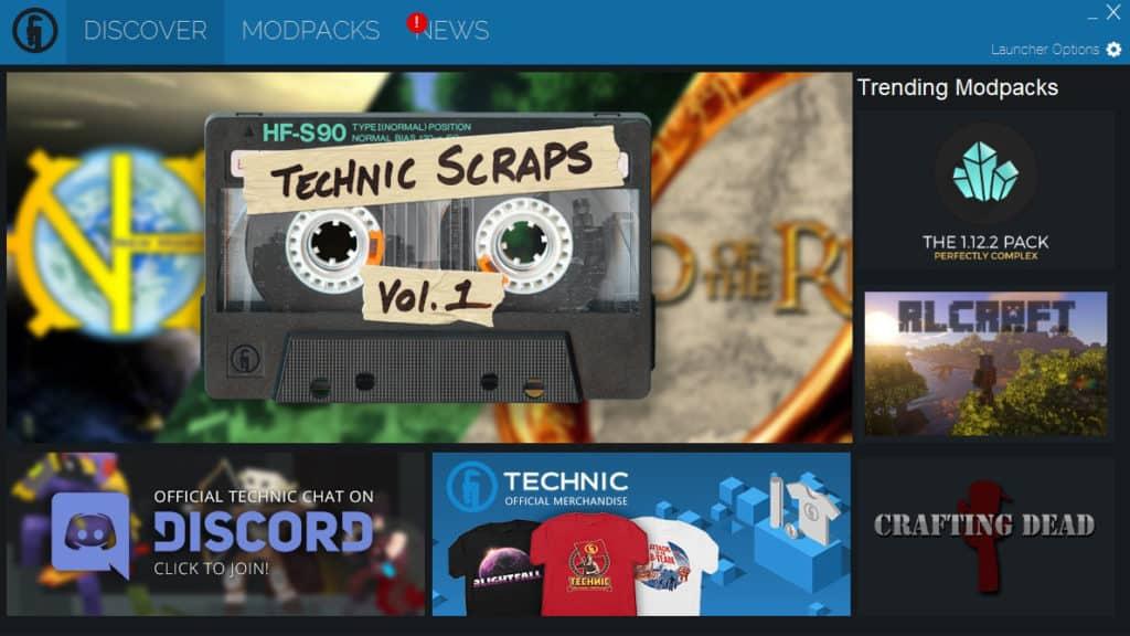 Technic Launcher Minecraft Mod Manager Modpacks