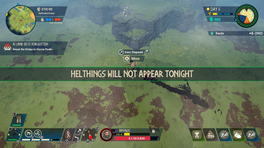 Helthings will not appear tonight