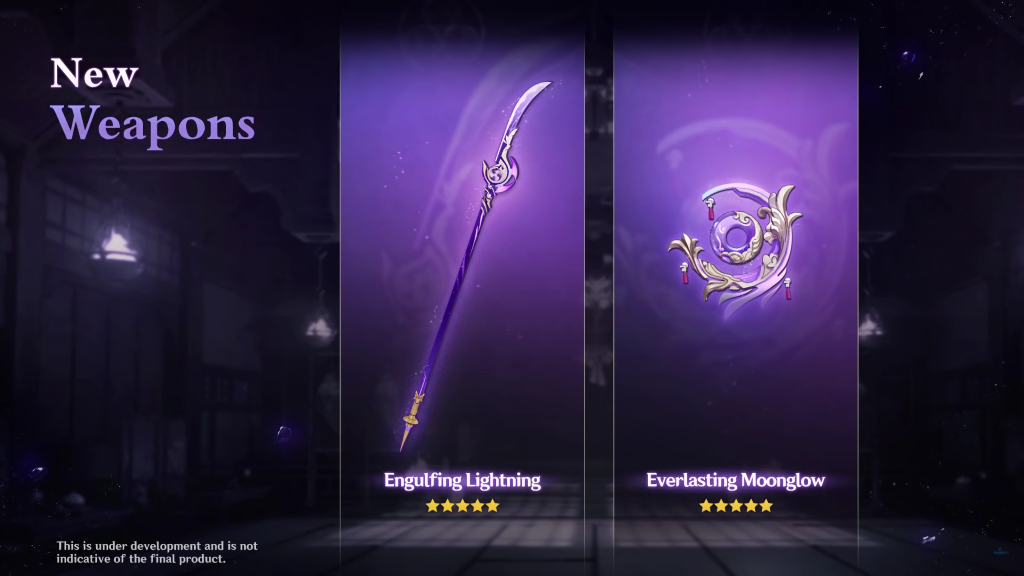 New Weapon Banner