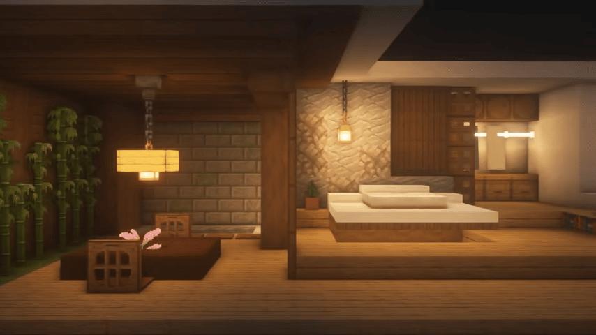 Warm Minecraft Room Ideas
