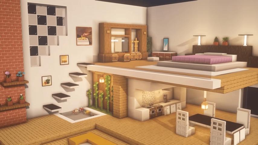 Minecraft Room Ideas Loft