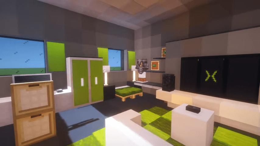 Minecraft Gaming Room
