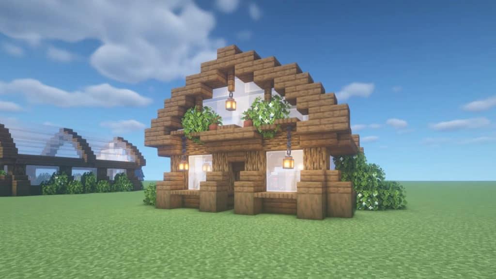Farm Minecraft Cottagecore Aesthetic 1.17.1 Survival How To Build