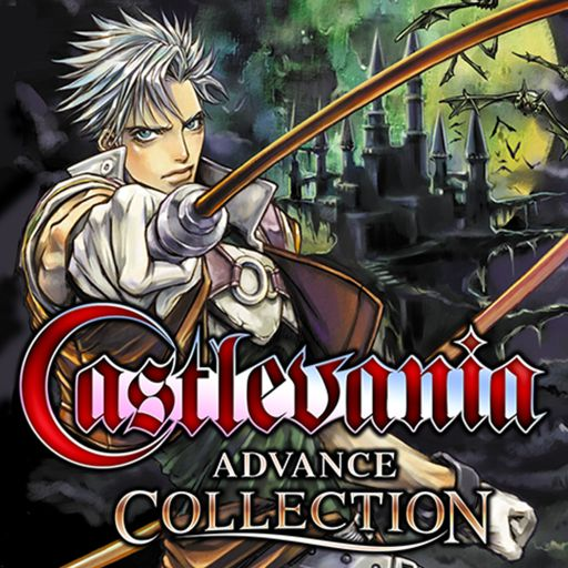 This is the Castlevania Advance Collection boxart or logo that has been updated on the rating board website