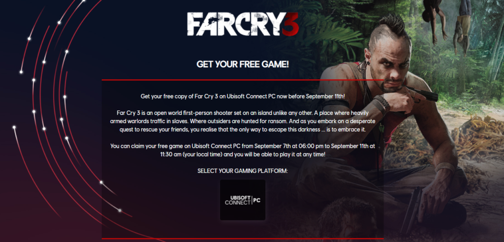 Far Cry 3 for free