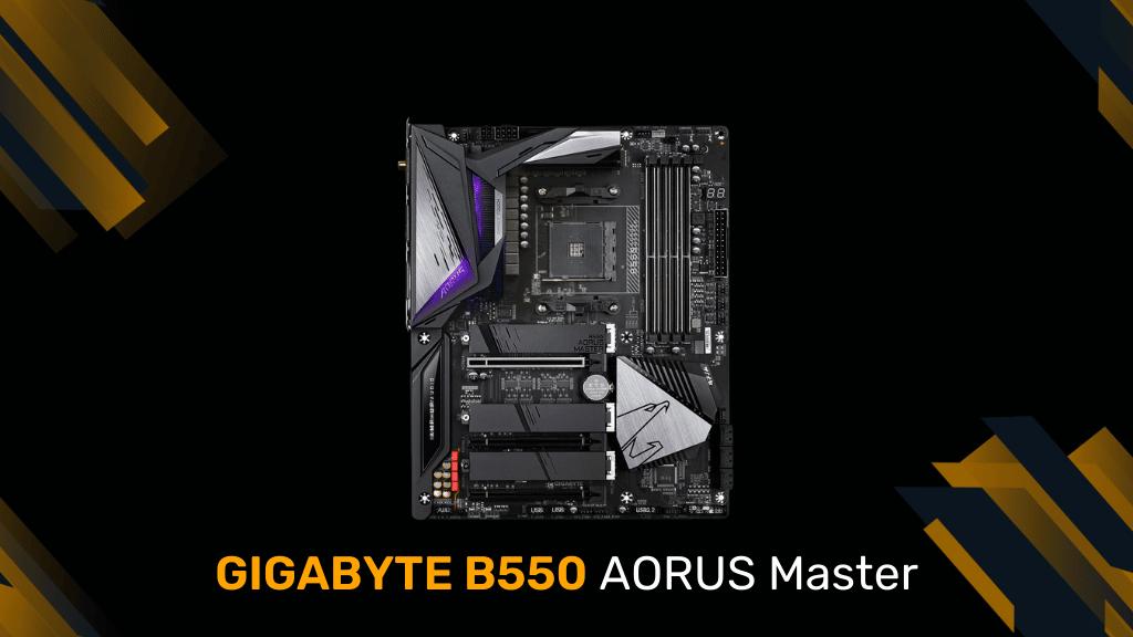 GIGABYTE B550 AORUS Master