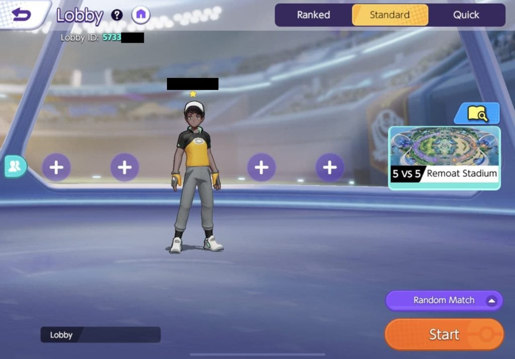 You can directly invite players/friends through the lobby as well