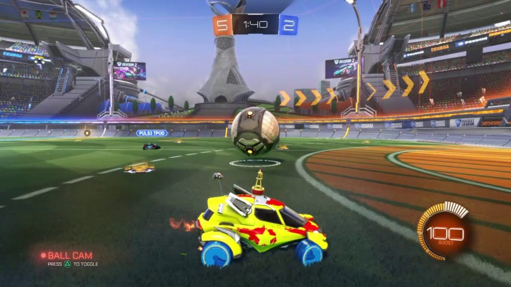 Using the Ball Cam in Rocket League