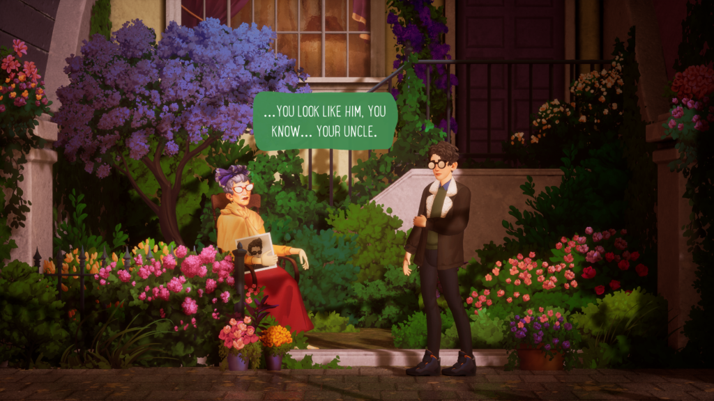Dialogue in The Artful Escape
