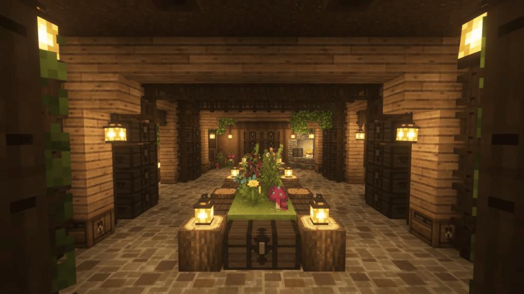 Underground Survival Base How to Build Minecraft Cottagecore Fairy Design