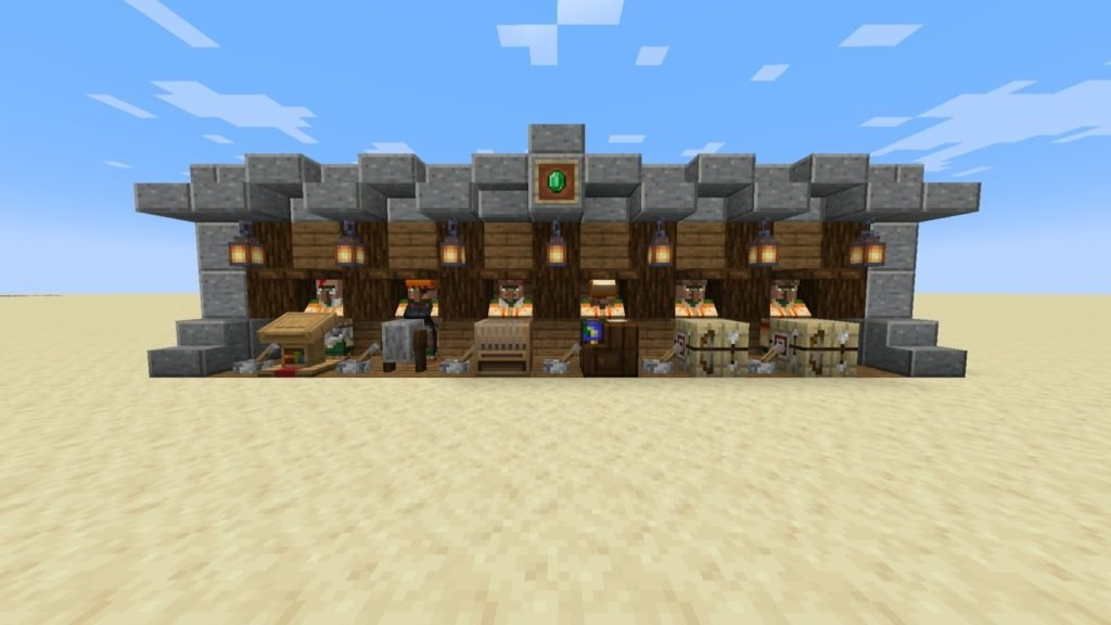 Tip for Building a Villager Trading Hall